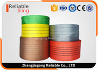 Corrosion Resistant Simplex Flat Belt Type Polyester Webbing Low Elongation