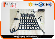 ประเทศจีน Customized Polyester Heavy Duty Cargo Net Multi - Color Sling Net CE Approved โรงงาน