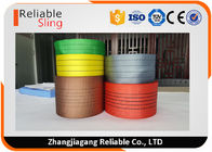 ประเทศจีน Lightweight Synthetic Polyester Lifting Webbing Wear Resistant Sling Webbing Tape โรงงาน