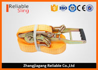 ประเทศจีน 50mm 5T Ergo Ratchet Tie Down Strap for Truck EN 12195-2 CE Certified โรงงาน