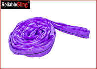 100% Polyester Synthetic Polyester Round Webbing Slings With CE Approved