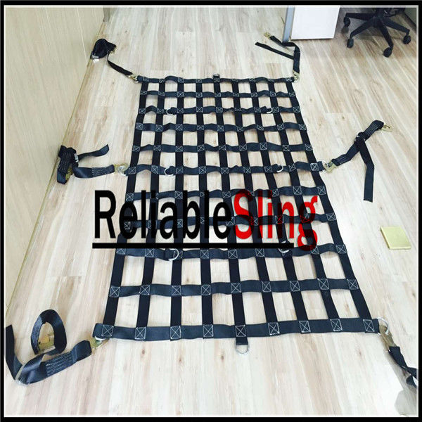 Waterproof Material Webbing Cargo Net Lifting Cargo Nets For Truck