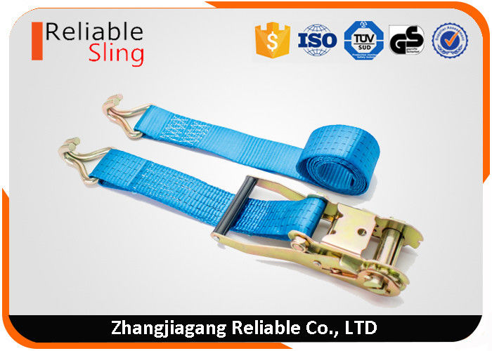 5000kgs Rated 6m Heavy Duty Ratchet Load Strap Assembly 50mm
